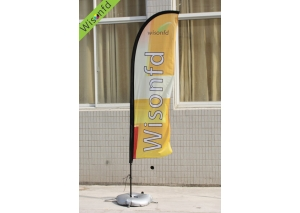fiber+Aluminum beachflag,flying banner 3m product ID WB002