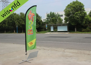 all Aluminum beachflag,flying banner  2.8 product ID WB011