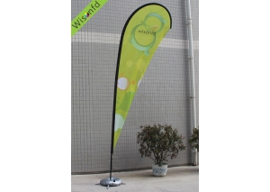 fiber+Aluminum teardrop banner 5m WT006