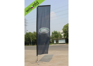 all Aluminum rectangular flag  2.8 WR001